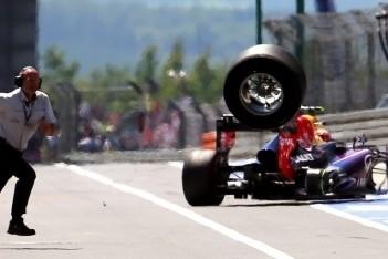 Red Bull past wheelgun aan na pitstopincident