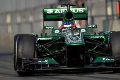 Stevens content over eerste Formule 1-meters