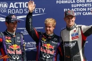 Vettel bevestigt topvorm in kwalificatie Monza