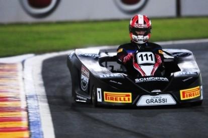 Di Grassi aanwezig op kartevenement Massa