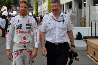 Watson ziet Brawn geen teambaas worden bij McLaren