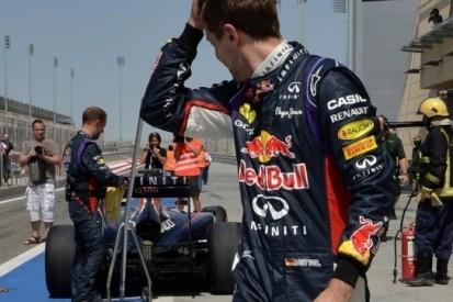 Vettel valt twee keer stil op ochtend derde testdag