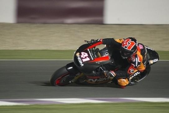 Aleix Espargaro topt eerste training in Qatar