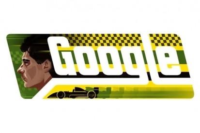 Google lanceert speciale Ayrton Senna-doodle