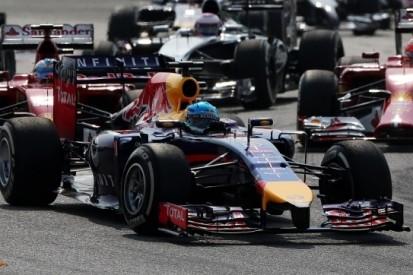 """Strijdvaardige Vettel: """"Mercedes ontzettend snel"""""""