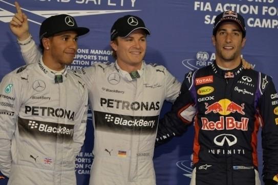 Rosberg start eerste avondrace in Bahrein van pole