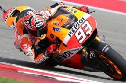 Marquez start ook tweede race in 2014 van pole