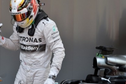"""Hamilton: """"Ik heb dit nog niet eerder zo meegemaakt"""""""