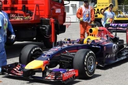 Vettel vijf startplaatsen naar achteren in Spanje