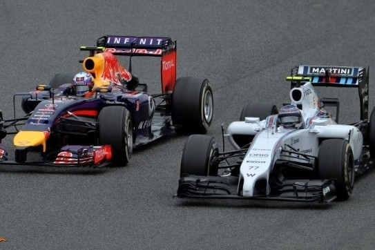 """Ricciardo: """"Denk dat ik de derde plaats nu wel mag houden"""""""