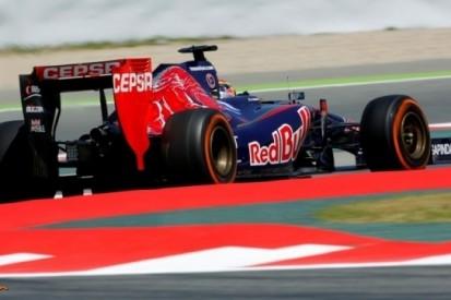 Scuderia Toro Rosso verlaat Barcelona zonder punten