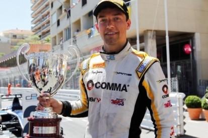 Palmer wint hectische eerste race in Monaco
