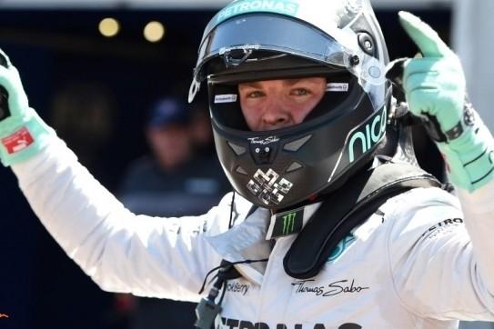 Rosberg eigent zich de pole-position toe in Monaco