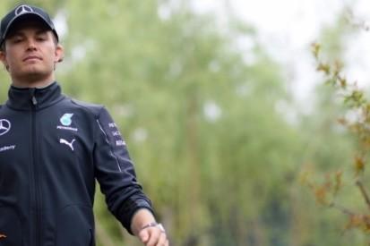 Rosberg betrokken bij ernstig ongeluk tijdens pr-stunt