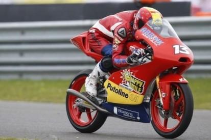 Iwema pakt fraaie twaalfde plaats in Moto3-race Assen