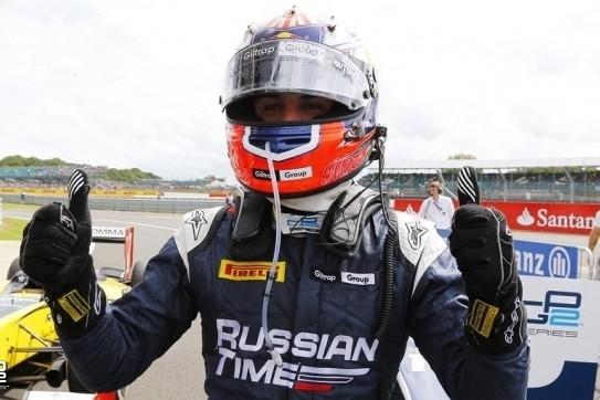 Evans scoort eerste overwinning op Silverstone