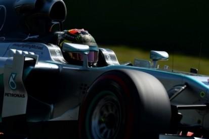 Rosberg bovenaan op zaterdagochtend in Duitsland
