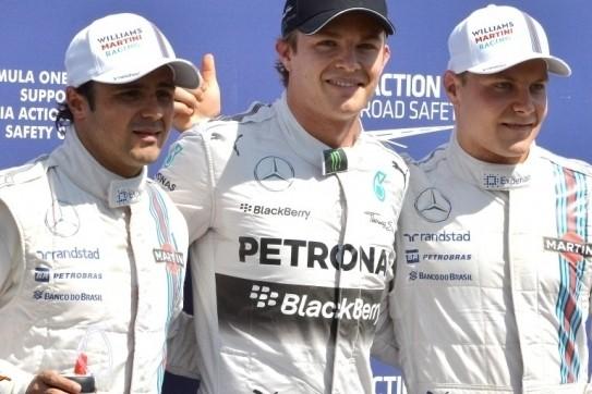 Rosberg grijpt pole voor thuisrace in Duitsland
