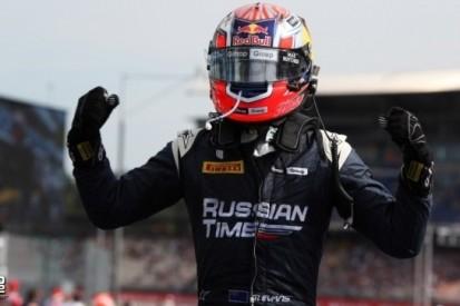 Evans wint GP2-race vanaf vijftiende startplaats