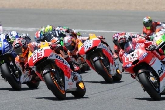 MotoGP racet volgend jaar op Donington Park