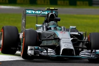 Hamilton toch sneller dan Rosberg na nieuwe problemen