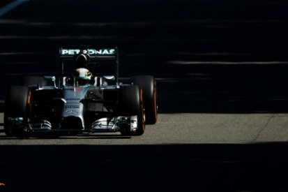Hamilton snelste in afsluitende training, Rosberg in de problemen