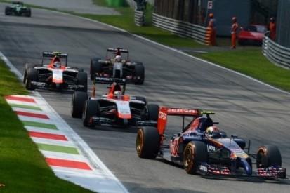Scuderia Toro Rosso weet niet te scoren in thuisrace