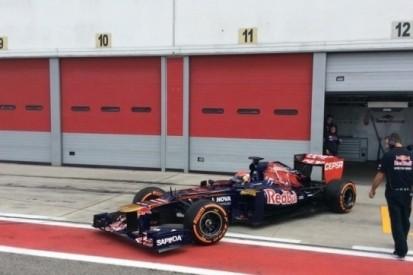Verstappen test met Toro Rosso op circuit van Adria