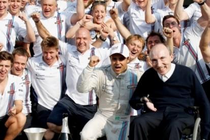 Frank Williams krijgt Bernie Ecclestone Award toegekend