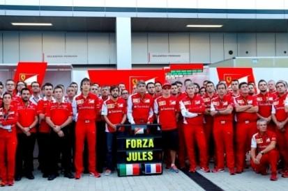 Formule 1-wereld denkt aan Bianchi voor start in Sotsji