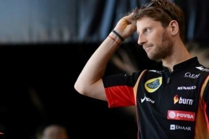 Lotus verwacht Grosjean te behouden voor 2015