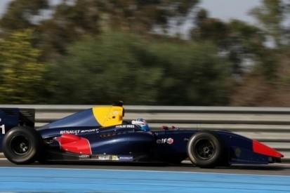 De Vries snel tijdens eerste Formule Renault 3.5-test