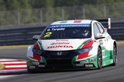 Fabrieksauto Honda wint voor het eerst met Tarquini