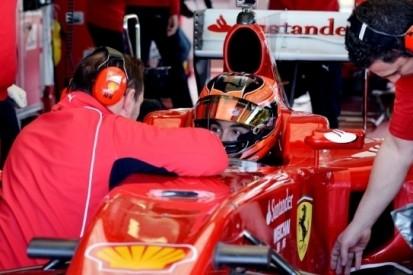 Ocon 'enorm vereerd' na test in Ferrari F10