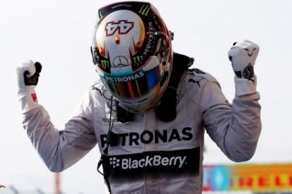 Hamilton is Rosberg de baas in Amerikaanse Grand Prix