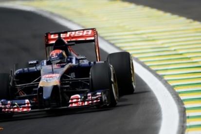 Verstappen rijdt zesde tijd in eerste training Brazilië