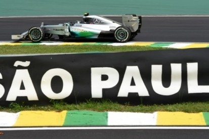 Rosberg voert tijdenlijst aan op eerste dag in Brazilië