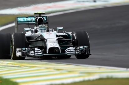 Rosberg houdt Hamilton ook in derde training achter zich
