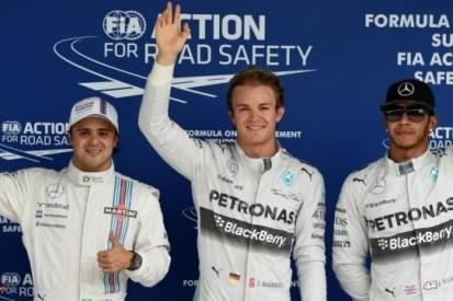 Rosberg claimt pole in bloedstollende Braziliaanse kwalificatie