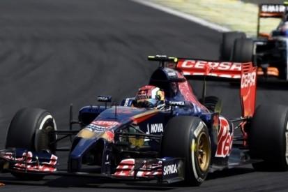 Scuderia Toro Rosso 'gewoon niet snel genoeg' in Brazilië