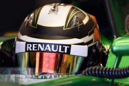 Kobayashi rijdt voor Caterham in Abu Dhabi
