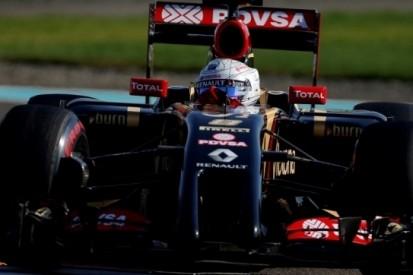 """Grosjean finisht seizoen in stijl: """"Wrede symmetrie"""""""