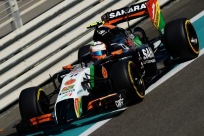 Force India komt eind januari met nieuwe livery
