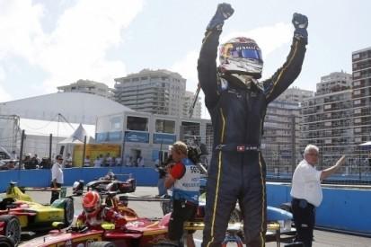 Buemi overwint in spectaculaire ePrix