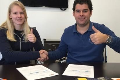 Visser kiest voor nog een seizoen Formule Renault 3.5
