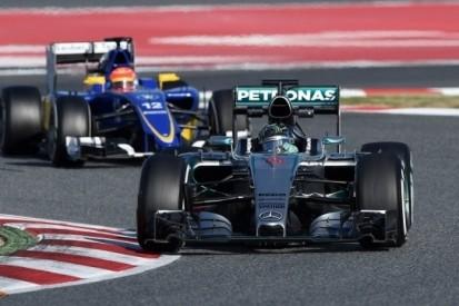 Rosberg niet onder de indruk van snelle rondetijden