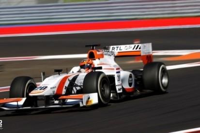 De Jong nog een jaar bij MP Motorsport in GP2