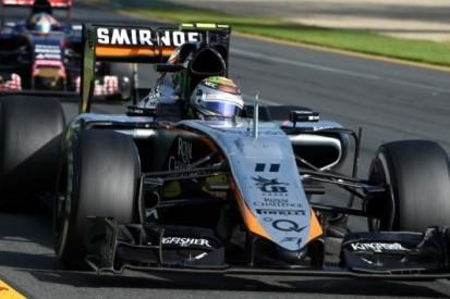 Onervaren Force India toch met twee auto's in de punten