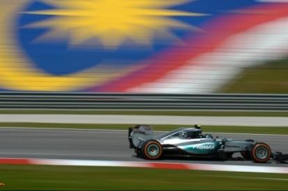 Rosberg rapste in eerste training Maleisië, Verstappen zevende