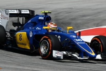 Marciello tevreden over eerste training voor Sauber